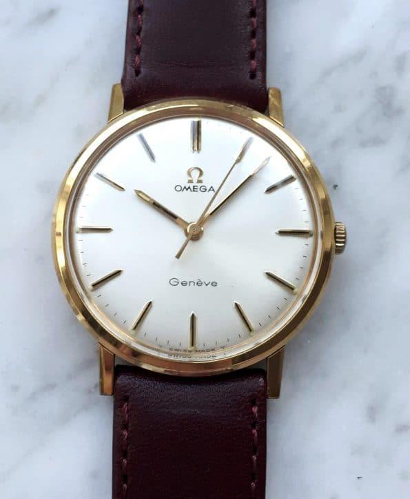 Beautiful Omega Geneve gold plated Vintage