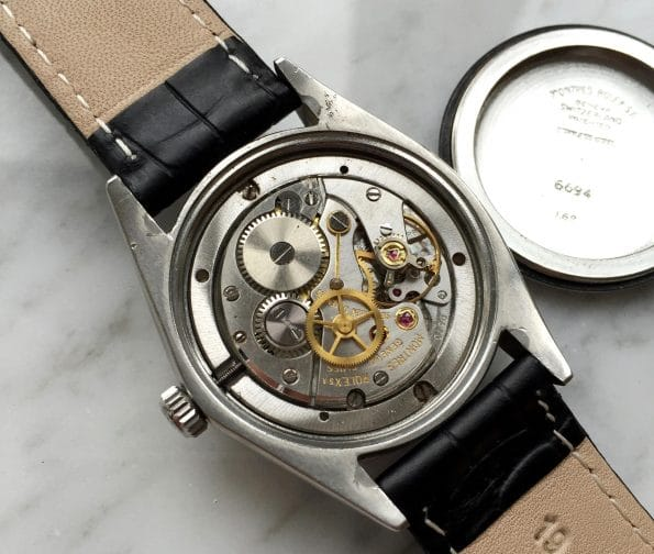 Great Handwinding Rolex Date with Mickey Mouse Dial