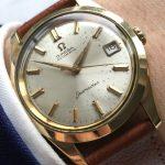 a2761 omega seamaster vergoldet patina (1)