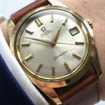 a2761 omega seamaster vergoldet patina (2)