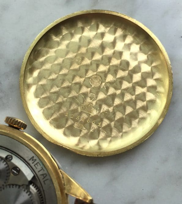 Refurbished Solid Gold IWC Caliber 89