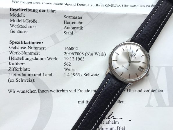 With EXTRACT - Vintage Omega Seamaster Automatic Steel