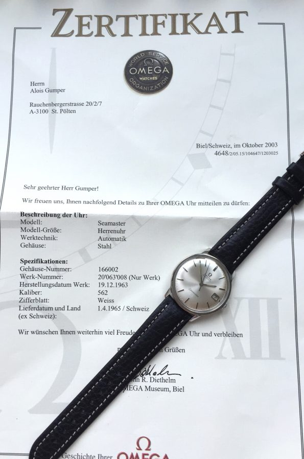 With EXTRACT – Vintage Omega Seamaster Automatic Steel