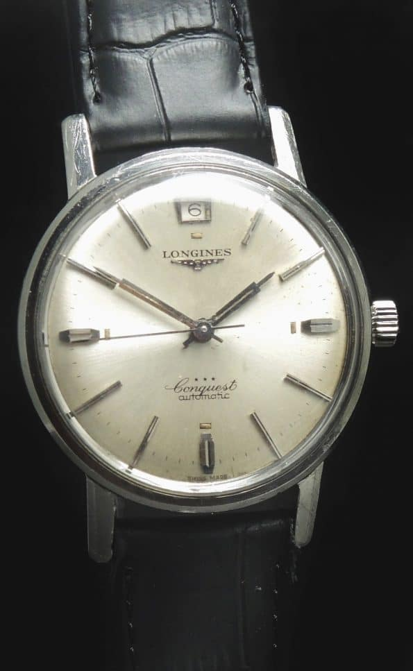 ORIGINAL PAPERS Longines Conquest Vintage Steel Automatic