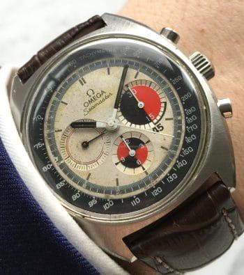 [:en]Used Omega Seamaster Soccer Vintage Chronograph[:de]Gebrauchter Omega Seamaster Soccer Vintage Chronograph[:]