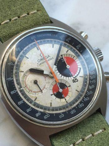 Vintage Omega Seamaster Soccer Chronograph Panda