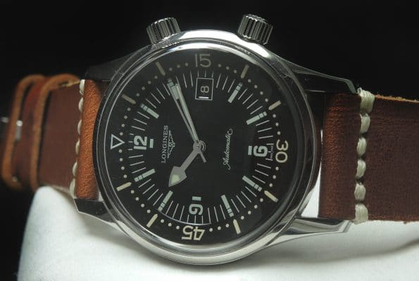 Mint Longines Legend Diver Date Full Set Box Papers