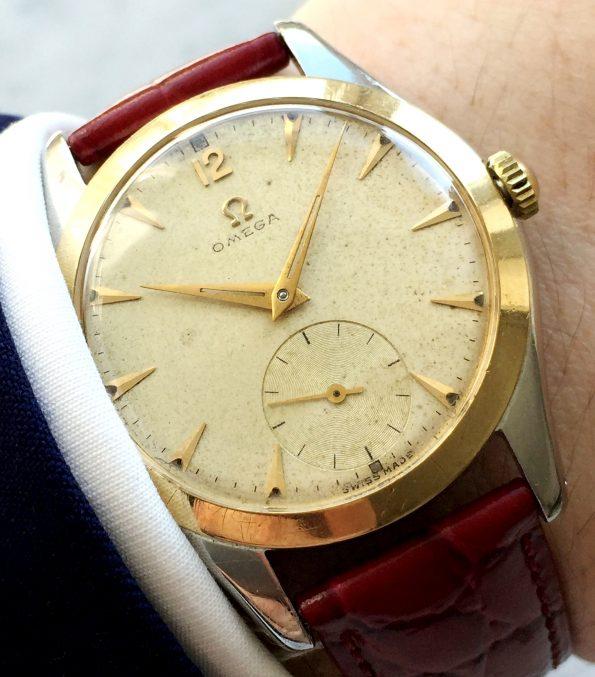 Vintage Omega Handwinding cal 265 Gold Plated