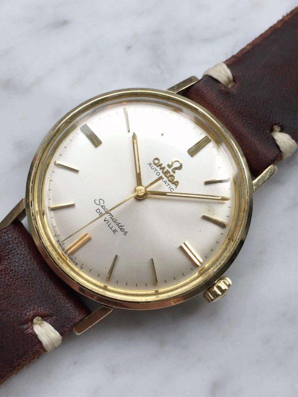 Vintage Omega Seamaster Automatic Deville Original Tritium Dial Gold Plated