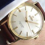 a2799 omega seamaster de ville stahl gold (3)