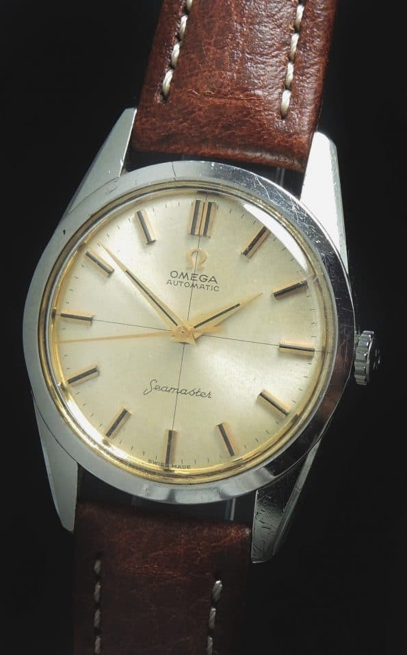 Perfect Omega Seamaster Automatic Vintage Cream Colored Dial