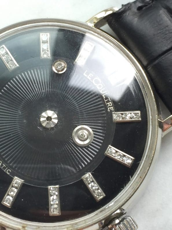 Jaeger LeCoultre Galaxy Mystery White gold case diamond dial
