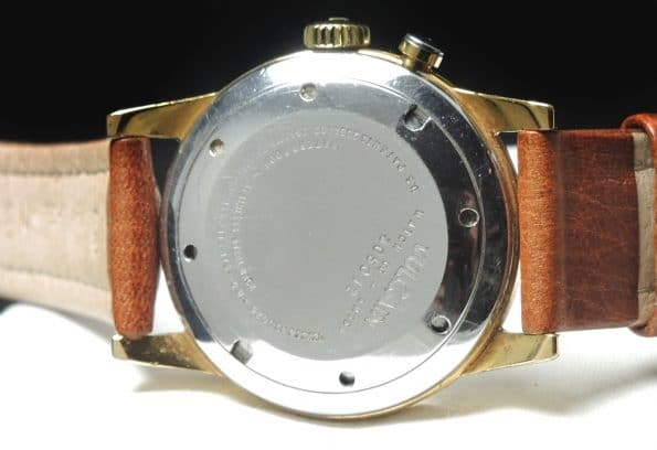 Vulcain Cricket Alarm mit seltenem Streifen Ziffernblatt