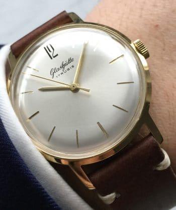 [:en]70ties Vintage Glashütte Hand Winding Watch[:de]70er Vintage Glashütte Handaufzugsuhr[:]