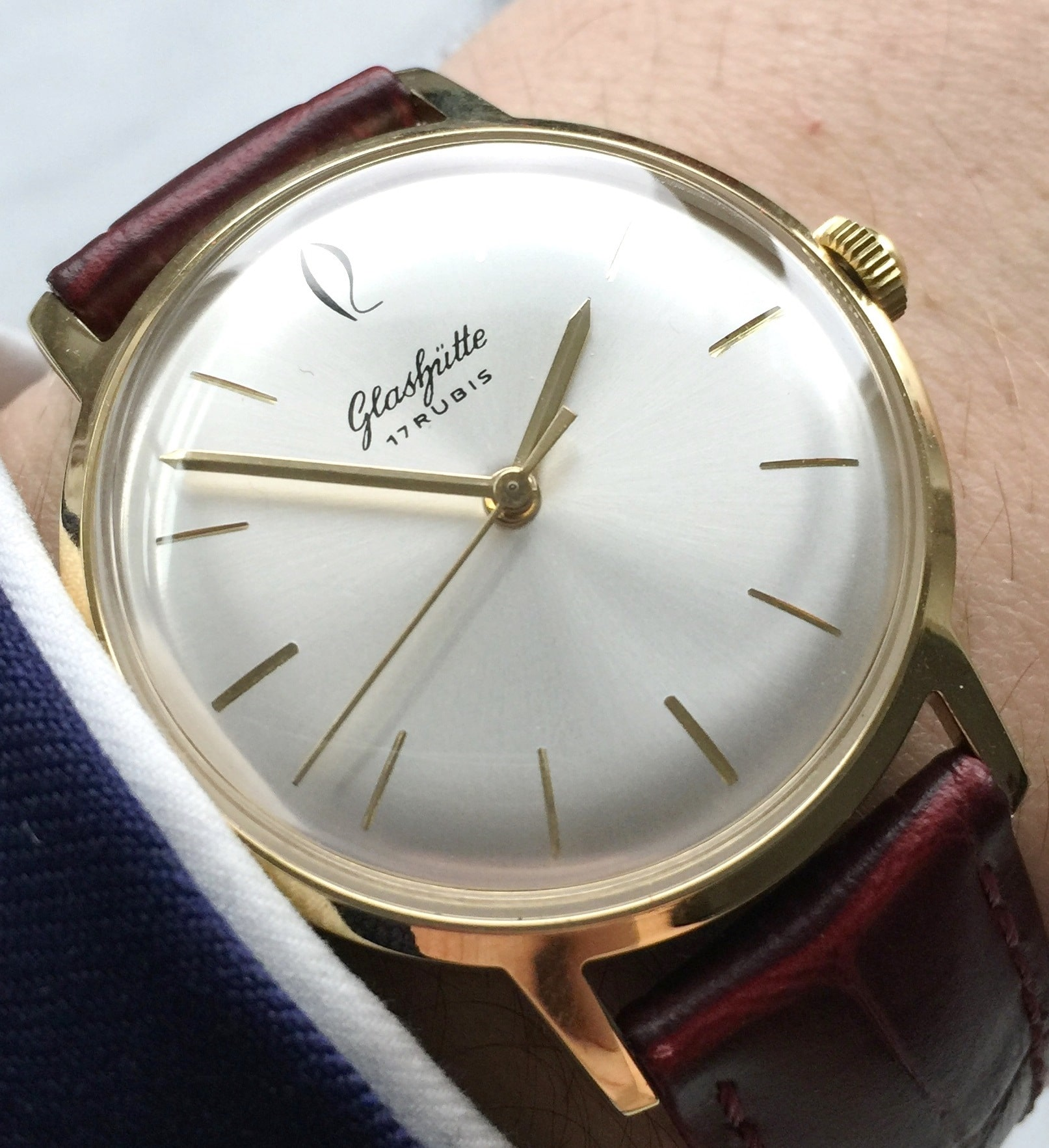 Perfect Glashütte Vintage Watch