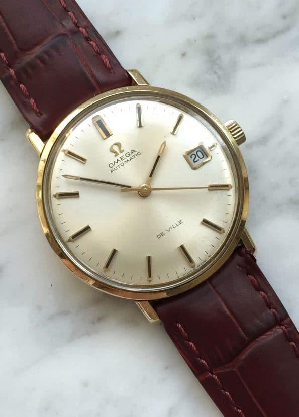 Omega De Ville Automatic Solid Gold Vintage