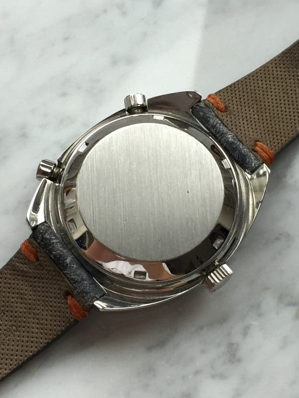 750 Euro Serviced Heuer Autavia Orange Boy Vintage Automatic Chronograph
