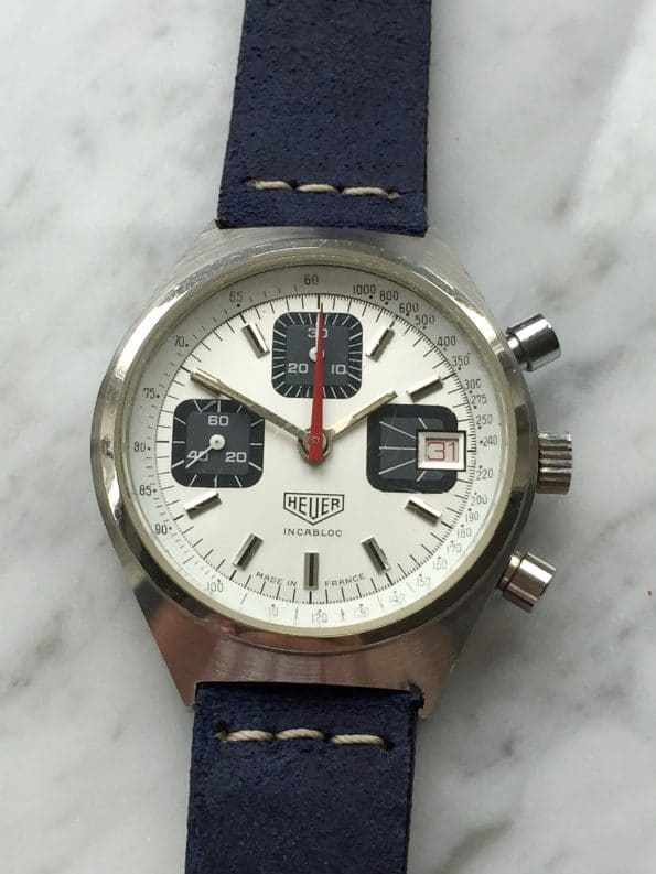 Heuer Made in France Chronograph Vintage