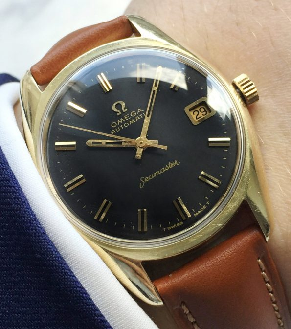 Fully Restored 35mm Omega Seamaster Automatic