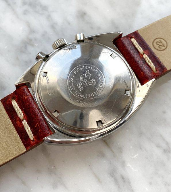 Omega Seamaster Soccer Vintage Chronograph mit rotem Band