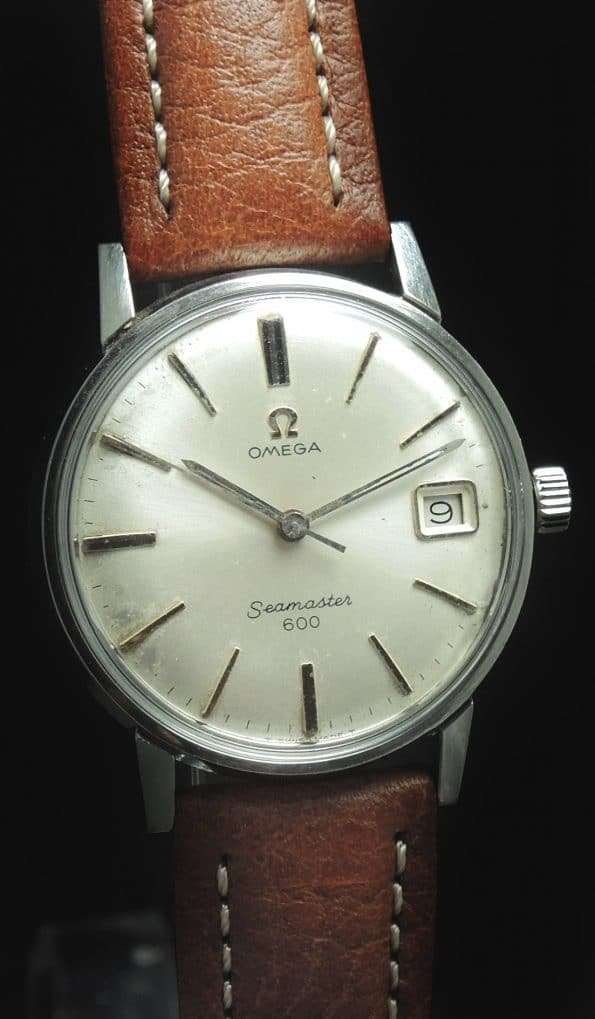 Beautiful Omega Seamaster 600 Steel Vintage