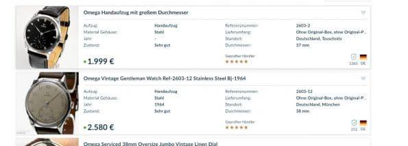 Beautiful 38mm Vintage Omega Oversize Jumbo Scarab Lugs