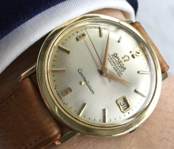 FULL SET Omega Constellation Automatic Vintage gold plated