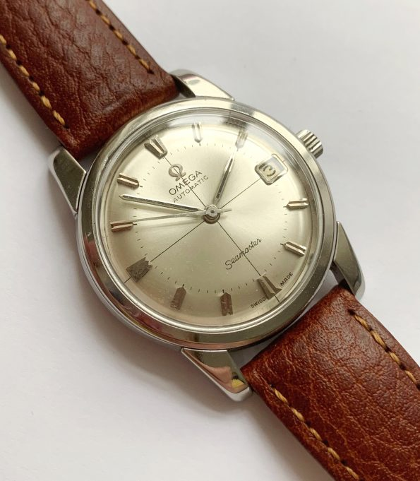 Vintage Omega Seamaster Automatic Date Crosshair Dial