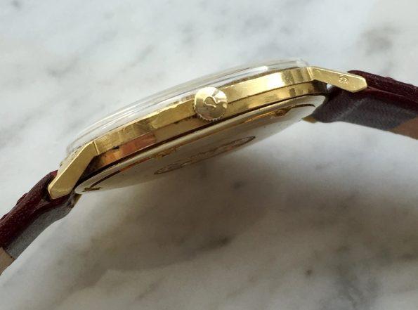 Attractive Omega Seamaster De Ville Automatic Solid Gold