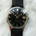 a2864 omega seamaster automatic black dial (4)