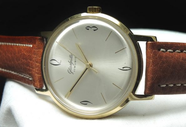 Serviced Vintage Glashütte Hand Winding Watch