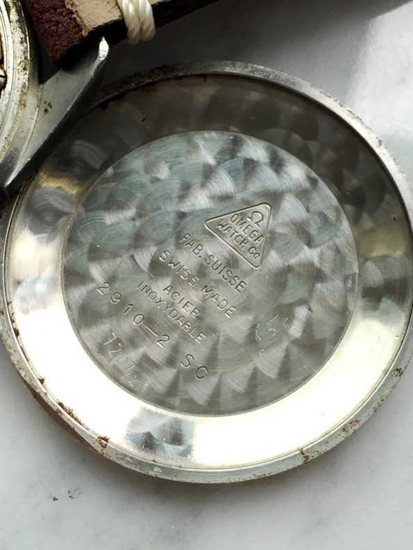 Black unrestored dial - Omega Seamaster Vintage 34mm