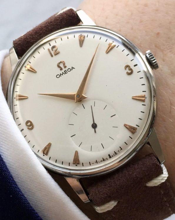 30t2 Restored Omega Oversize Jumbo Vintage 37mm