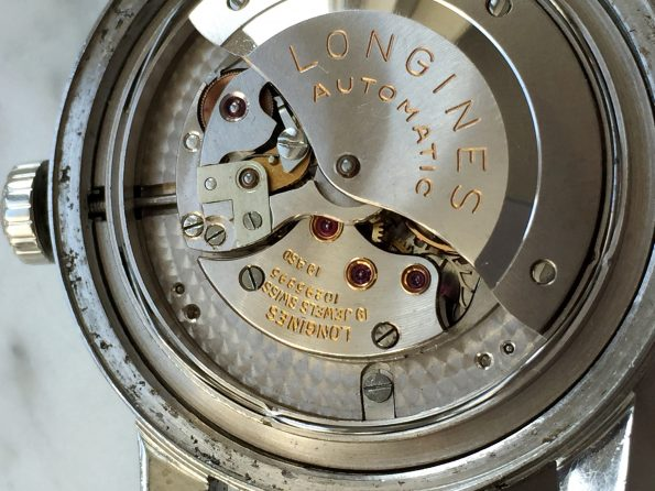 Serviced Longines Conquest Calendar Automatic Black Original Dial RARE