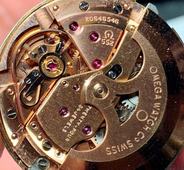 Omega Seamaster Pre De Ville Solid Gold Linen Dial Automatic