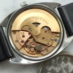 Great Vintage Omega Constellation C Shape Sunburst Grey Dial