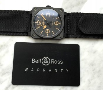 [:en]Bell & Ross BR03-92 Heritage Full Set Box Papiere[:de]Bell & Ross BR03-92 Heritage Full Set Box Papers[:]