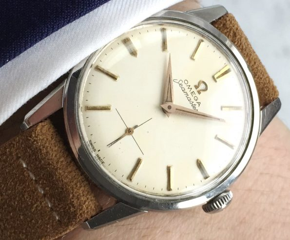 Great Condition Omega Seamaster Handwinding Big Size 35mm