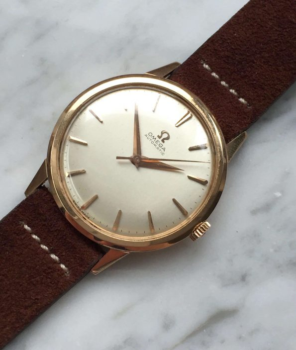 18k Solid Rose Gold Omega Seamaster Automatic