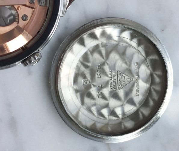 Makellose Omega Constellation Two Tone Pie Pan Tritium Ziffernblatt