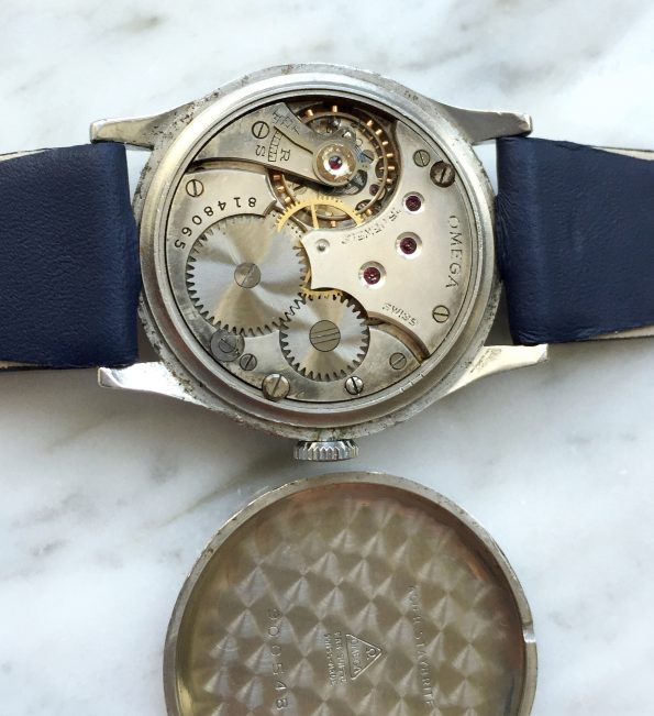 Great 1930s Omega Sector Dial and Calatrava Design