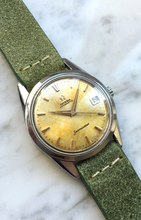 Attractively patinaed Vintage Omega Seamaster Automatic