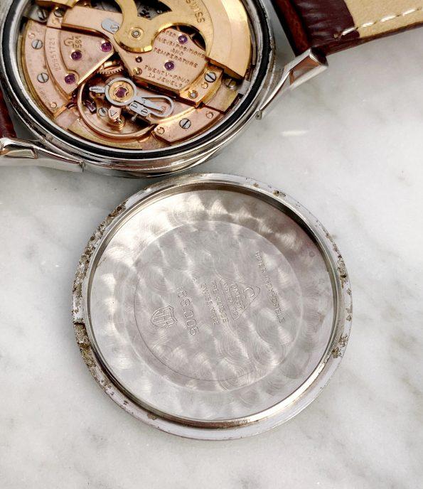 Restored Omega Constellation Black Pie Pan Automatic Vintage