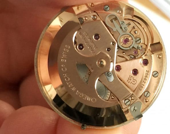 Fantastic Pre Omega Seamaster De Ville Automatic Gold Plated