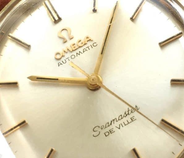 Wunderschöne Pre Omega Seamaster De Ville Vintage Automatik Vergoldet