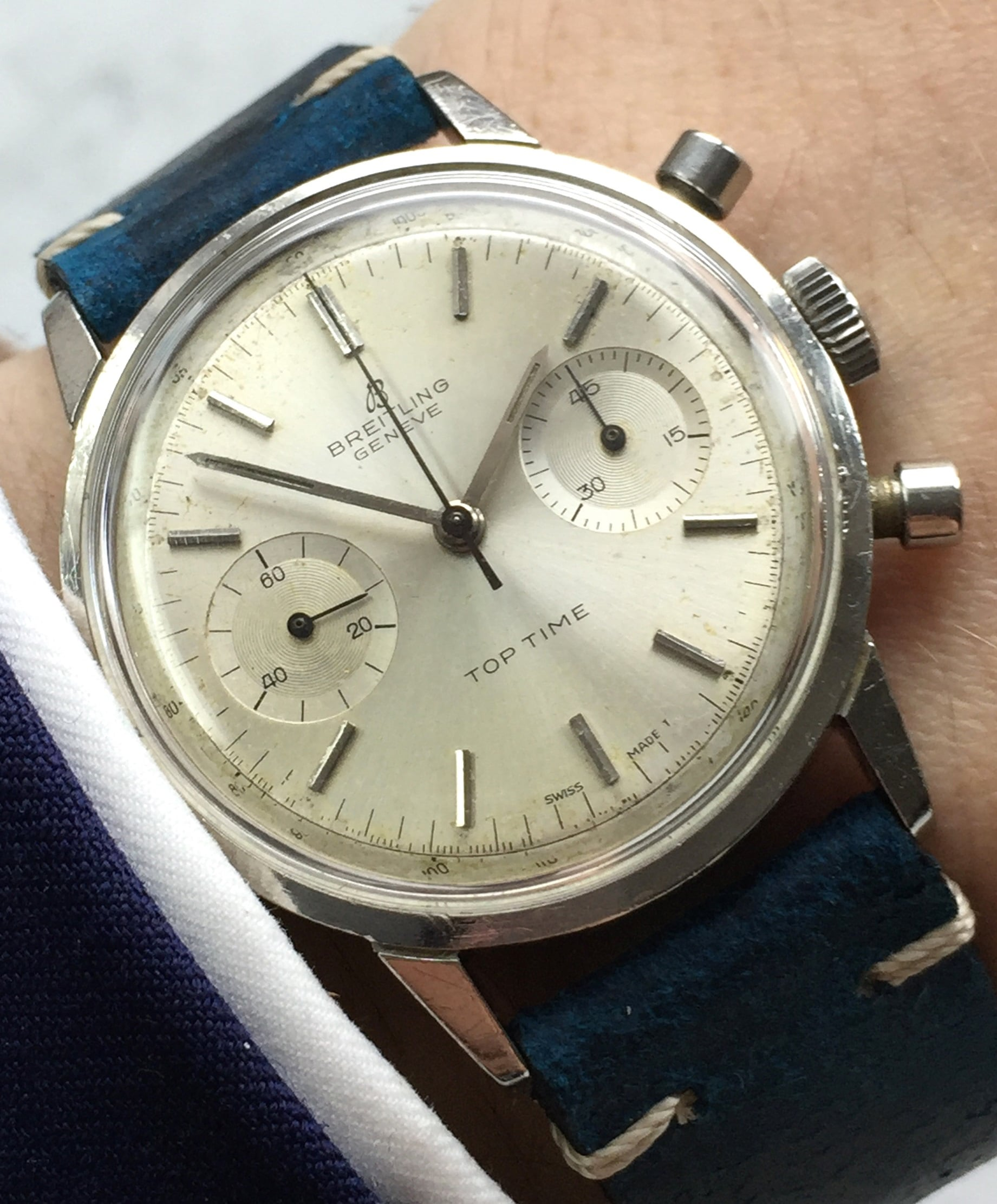 Early Ref 2002 Breitling Top Time Stainless Steel