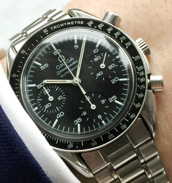 Omega Speedmaster Reduced Automatic Automatik Vintage