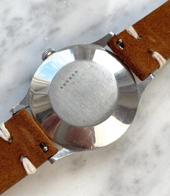 Jaeger LeCoultre Steel Vintage cal 449