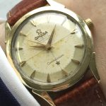 a2964 omega constellation pie pan gold plated (1)