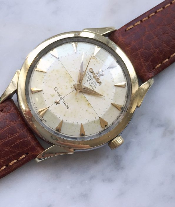 Omega Constellation Pie Pan Automatic Crosshair dial
